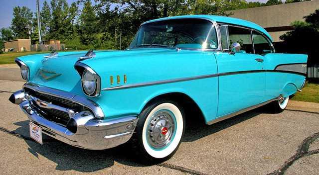 1957 chevrolet belair 2 door hardtop for Garage bel auto 38400