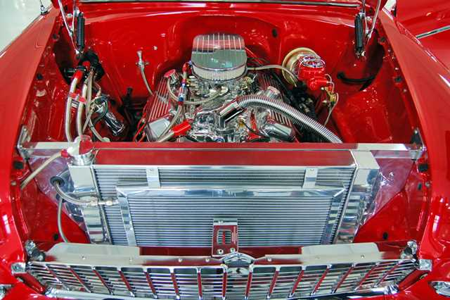 1955-Chevy-Bel-Air-eng1 Under The Hood Wiring Harness on