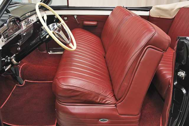 1941 Cadillac Series 62 Sedan: Interior 2 View