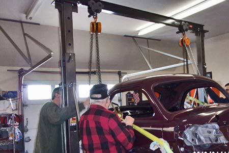 Harbor Freight Gantry Crane >> Best Practices When Painting Your Classic Car