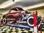 Putting the body back on a 1948 Chrysler - a scary task goes very well