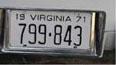 Restoring Vintage License Plates