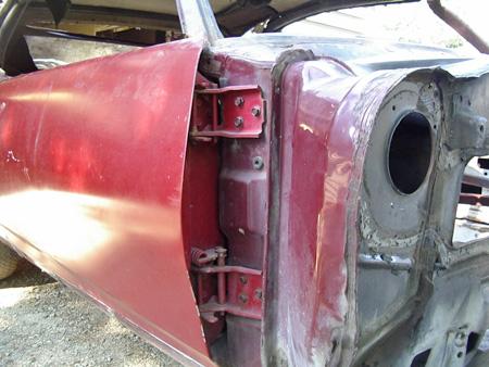 1967-1969 Chevy Camaro Door Hinge Pin and Bushing Kit
