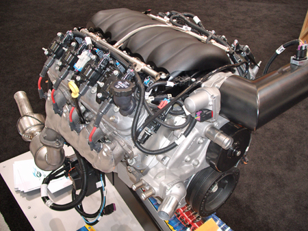 Emissions Legal 454 Cid 6 2 Liter Gm Ls3 Seen Here Was Used