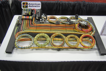 resto-mod restorations — part 19: wiring custom car wiring harness wire harness assembly process second chance garage